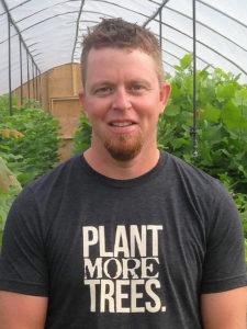 Brian Nebraska tree farmer