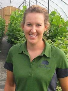 Heather Nebraska tree farmer